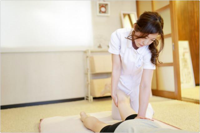 ⑥骨盤締め・ヒップアップの施術