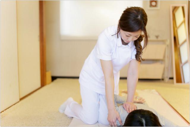 ⑦猫背・巻き肩の改善